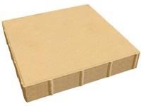 B&BC Čtverec  40-40-6, jemný, žlutá (BC)